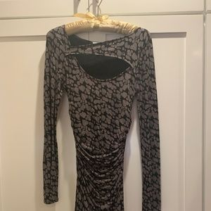 Animal Print Fitted Tracy Reese Size P